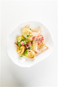 Voir la recette : Fricassé de filets de soles et d'artichauts