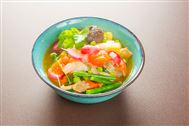 Voir la recette : Fricassée de légumes (fond de frigo)