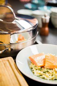 Voir la recette : Saumon fumé à chaud