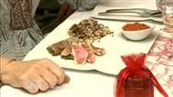 Voir la recette: Rouget et compotée de légumes rouges et riz sauvage