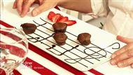 Voir la recette : Fondants au chocolat au piment et confiture de raisin