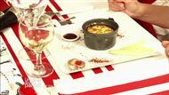 Voir la recette : Soufflé au foie gras et ses asperges