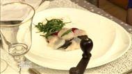 Voir la recette : Tarte de Saint-Jacques, betterave et Truffes