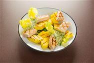 Voir la recette: Spiering (côtes de porc) et ananas grillé