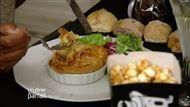 Voir la recette : Tourte au foie gras et jambon de Reims