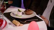 Voir la recette: Filet de bœuf farci de foie gras accompagné d'un râpé de pommes de terre