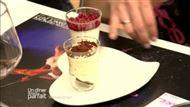 Voir la recette : Panacotta aux framboises