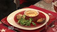 Voir la recette : Oeufs cocottes au fromage - cakes poireaux et foie gras et pain d'épices.