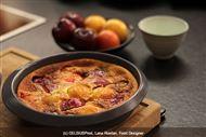 Voir la recette: Clafoutis aux prunes caramélisées