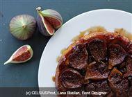 Voir la recette : Tarte Tatin aux figues