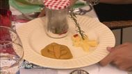 Voir la recette: Boeuf en papillote d'épinards et sa polenta