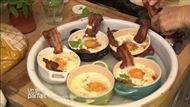 Voir la recette: Oeufs cocote a la ventreche et piment d'espelette