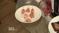 Voir la recette : Charme épicé, tendresse nappée et câlin marin