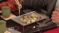 Voir la recette: Fraîcheur terre/ mer et les soba de Naruto