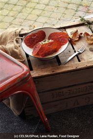 Voir la recette : Fondant d'oignons doux au croustillant de jambon Ganda