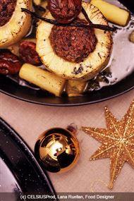 Voir la recette : Ananas farci aux fruits secs