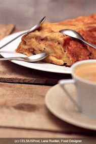 Voir la recette : Pudding reste petit déjeuner