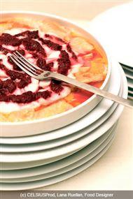 Voir la recette : Carpaccio de poissons cuit à l'aigre doux de fruits rouges