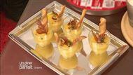 Voir la recette : Verrine de melon aux chips de jambon