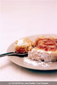 Voir la recette: Biscuit roulé à la confiture