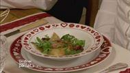 Voir la recette : Ravioles de reblochon et son jambon de pays