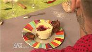 Voir la recette : Tiramisu framboises pain d'épice