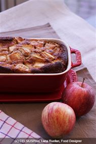 Voir la recette : Pain d'épices aux pommes