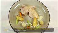 Voir la recette: Poularde en vessie et légumes d'antan